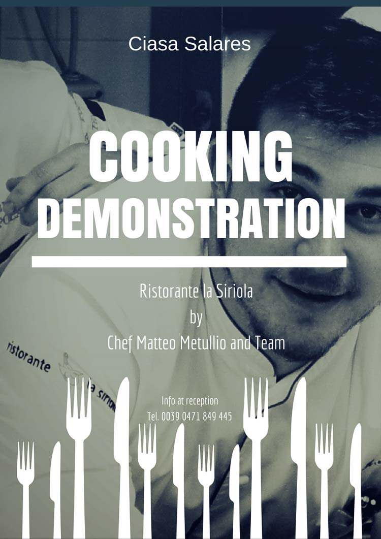 Cooking Demostration