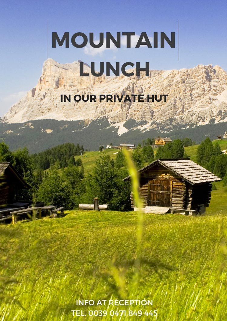 Lunch in mountain hut
